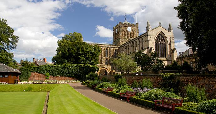Hexham Abbey, Northumberland by Gail Johnson, Shutterstock