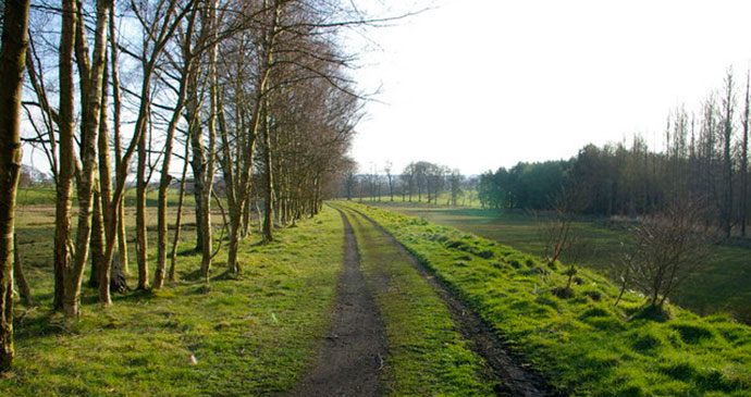 South Tyne Trail, Northumberland, UK by Phil Champion, Wikimedia Commons