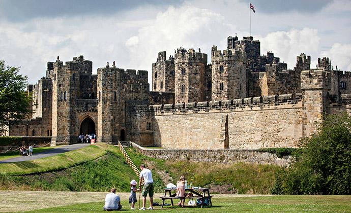 Alnwick Castle, Northumberland, UK by Visit Northumberland