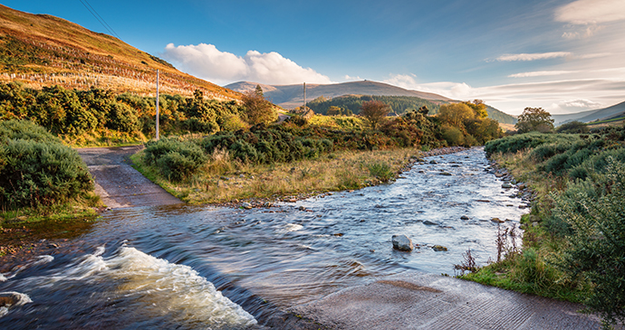 Cheviot valley, Northumberland, UK by Dave Head, Shutterstock
