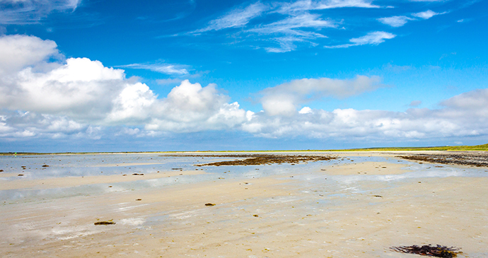 Cata Sand the Mainland Orkney Scotland by Catriona Crawford, Shutterstock