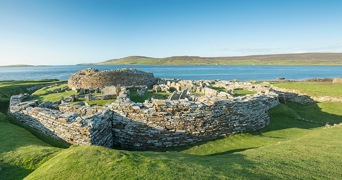 Broch of Gurness the Mainland Orkney by Kenny Lam, VisitScotland archaeological sites orkney