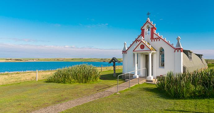 Italian Chapel Lamb Holm Orkney Scotland by Kenny Lam, VisitScotland