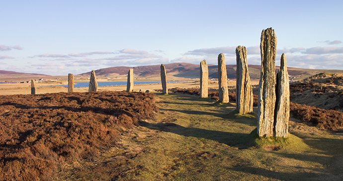 Ring of Brodgar the Mainland Orkney Scotland by Kenny Lam, VisitScotland archaeology orkney