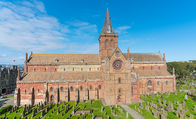 St Magnus Cathedral the Mainland Orkney by Kenny Lam, VisitScotland