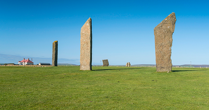 Standing Stones of Stenness Orkney by Kenny Lam, VisitScotland archaeology orkney
