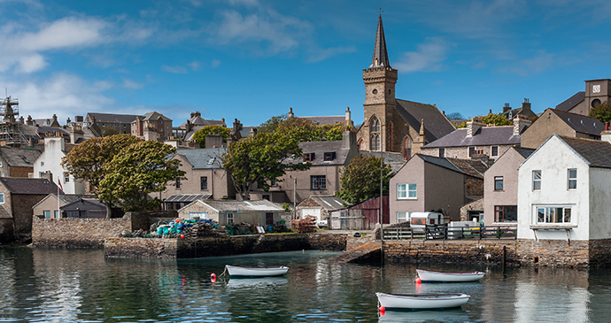Stromness harbour The Mainland Orkney Scotland by Claudine Van Massenhove, Shutterstock