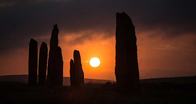 Ring of Brodgar UNESCO site Orkney by Orkney.com
