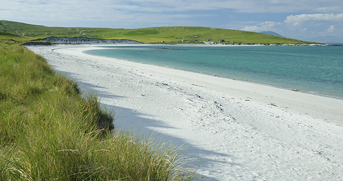 Beach Beasdaire Berneray Outer Hebrides Scotland by Whiskeybottle Dreamstime