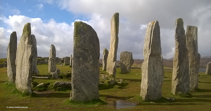 Callanish standing stones Outer Hebrides Scotland by Mark Rowe www.markrowe.eu.