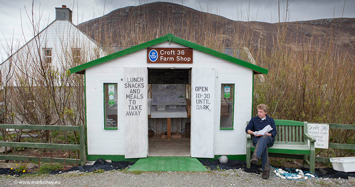 Croft Farm Shop Outer HEbrides Scotland by Mark Rowe