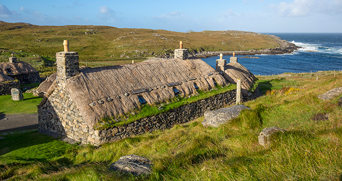 Gearrannan Blackhouse Village Outer Hebrides Scotland by Kenny Lam Visit Scotland