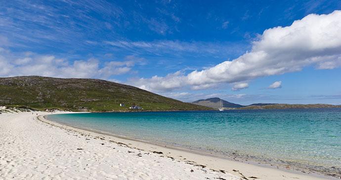 Vatersay beach Outer Hebrides Scotland by Luca Quadrio Dreamstime