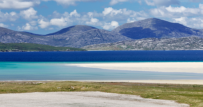North Harris Hills Outer Hebrides Scotland by Laurie Campbell
