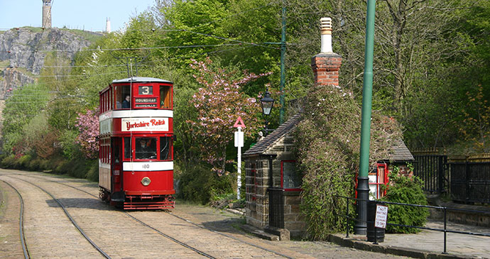Crich Tram Museum Peak District UK by Northern Imaging, Shutterstock