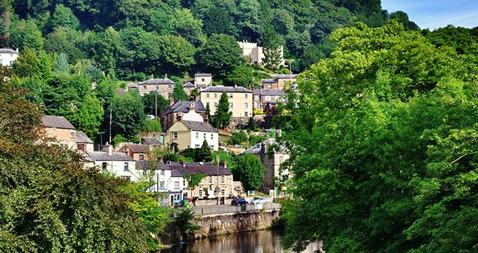 Matlock Bath Peak District UK by Kevin Eaves, Shutterstock