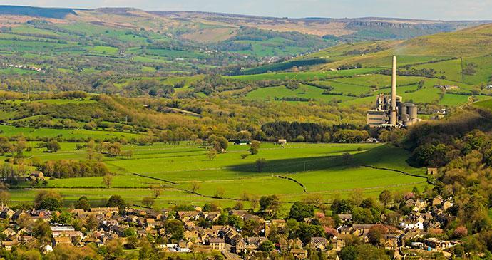 Castleton Derbyshire Peak District England UK by Stephen-Meese Shutterstock