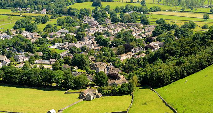 Castleton Village © Steve Meese, Shutterstock