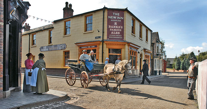 Blists Hill Victorian Town ©Visit Ironbridge best family days out shropshire