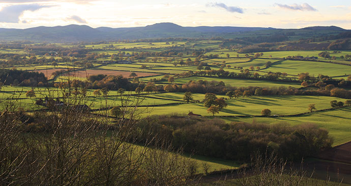 Stretton Hills © Gordon Dickens