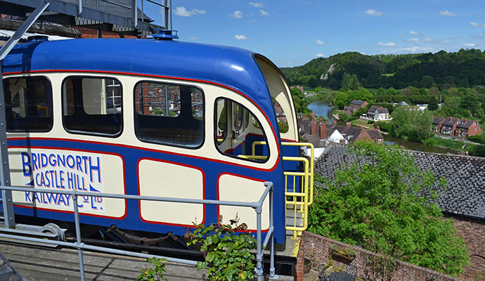 Bridgnorth signal box Shropshire UK by Arena Photo UK Shutterstock