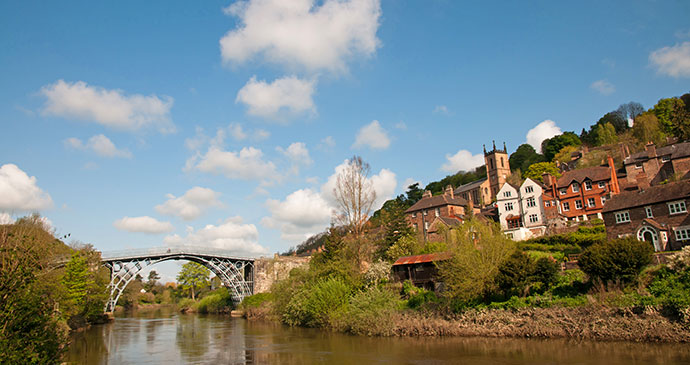 Ironbridge Gorge Shropshire UK by stocker1970, Shutterstock