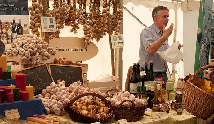Ludlow Food Festival Shropshire UK by Christopher Elwell Shutterstock