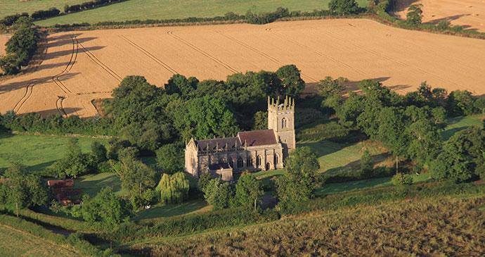 St Mary Magdalene church Ashbourne Shropshire UK by Gordon Dickens