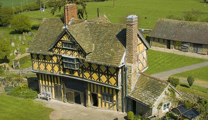 Stokesay Castle Shropshire UK David Hughes Shutterstock