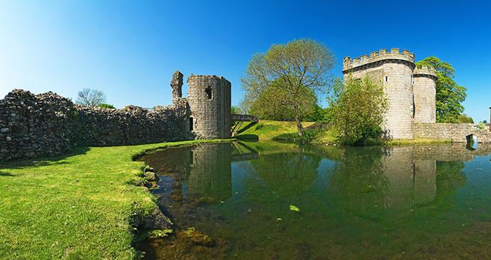 Whittington Castle Shropshire by Christopher Elwell Shutterstockq