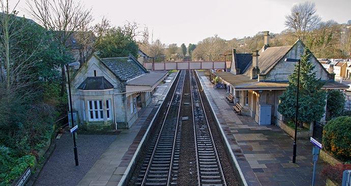 Bradford on Avon station England UK by Pitamaha Shutterstock