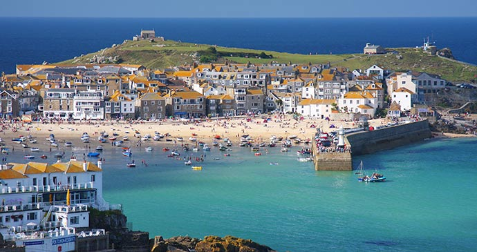 St Ives Cornwall England UK by Dan Breckwoldt Shutterstock