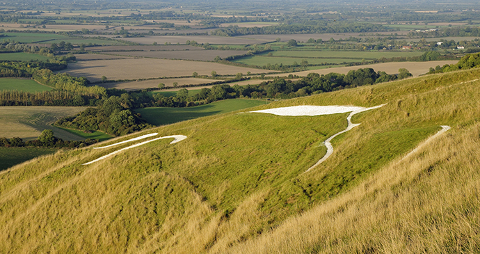 Whitehorse Hill, Small Hills by Martin Fowler, Shutterstock