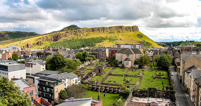 Arthur's seat, Edinburgh by evenfh, shutterstock