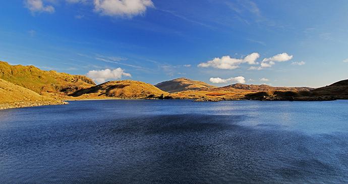 Carnedd y Cribau, small hills by David Hughes, Dreamstime