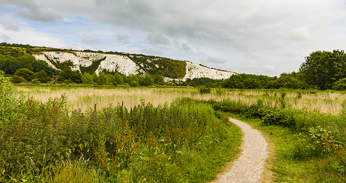 Cliffe Hill, East Sussex, Small Hills by Ken Taylor, Dreamstime