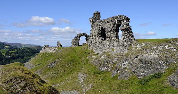 Dinas Bran, Small hills by Steve Meese, Shutterstock