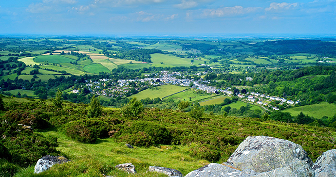 Chagford's Valley, Chagford, South Devon by Visit Chagford