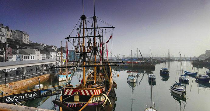 Golden Hind, Brixham, South Devon by Golden Hind Museum Ship