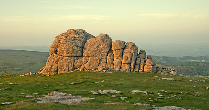 Dartmoor Moor Rocks, South Devon by UniqueDevonTours.com