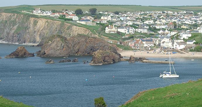 Hope Cove, Nr Kingsbridge, South Devon by Sue Viccars, dartmoormagazine.co.uk