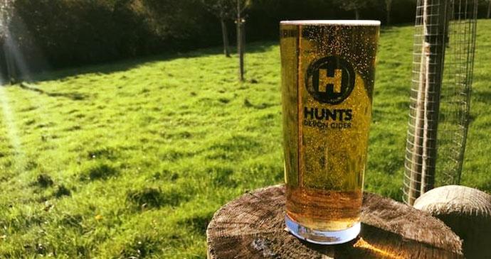 Cider, South Devon by Hunts Cider