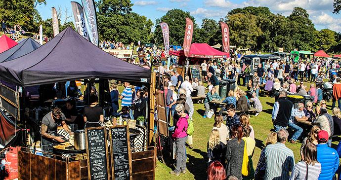 Powderham food festival, South Devon by Powderham Food Festival