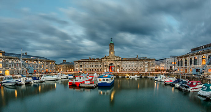 the Royal William Yard, Plymouth, South Devon by histockphoto@gmail.com