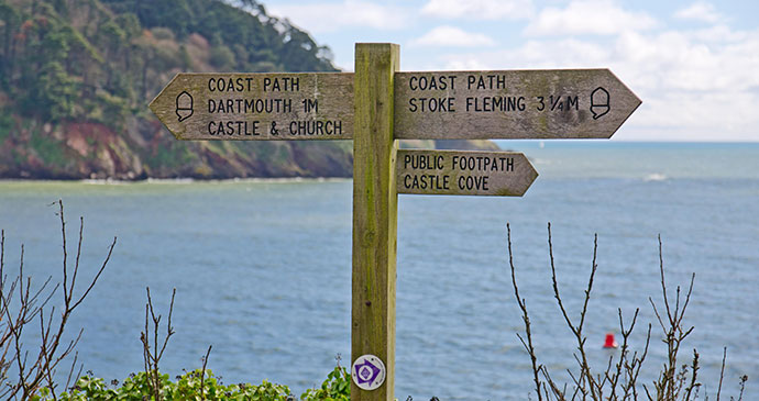 South West Coast Path, Dartmouth, South Devon by Unique Devon Tours