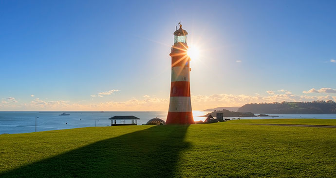 Smeaton's Tower, Plymouth, South Devon by Trevor Burrows