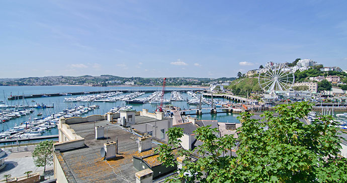 Torquay Marina, Torquay, South Devon by Unique Devon Tours