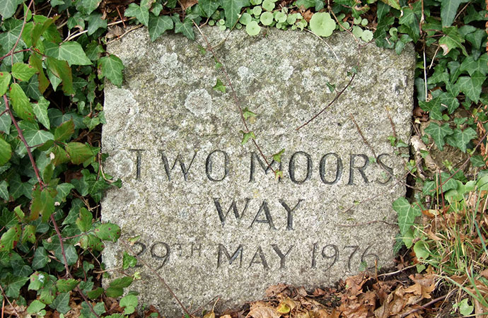 Two Moors Stone, South Devon by Sue Viccars, twomoorsway.org
