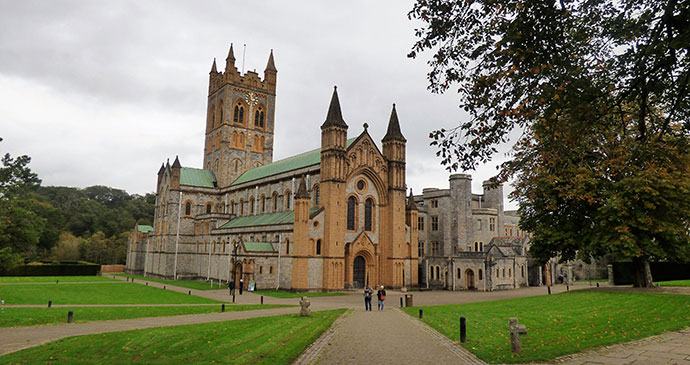 Buckfast Abbey, South Devon by Leigh (Bella) St John