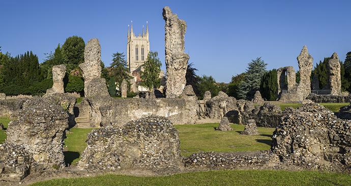 Bury St Edmund's Abbey by chrisdorney, Shutterstock